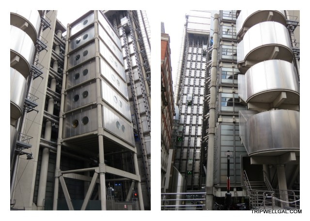 Lloyd's of London is next to Leadenhall Market
