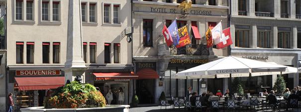 Hotel de la Cigogne – A romantic getaway in Geneva