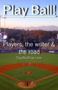 Baseball Players, the writer and the road - an interview with sports writer, Dan Schlossberg