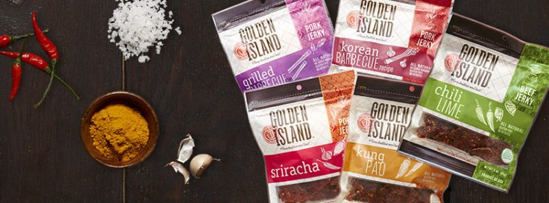 Golden Island Jerky snack ideas