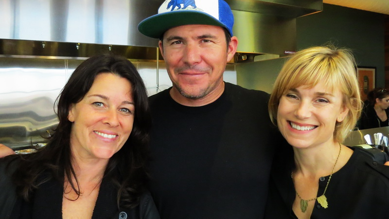 Lisa Rogovin of Edible Excursions with Joe Hargrove and Sarah Deseran of Tacolicious.