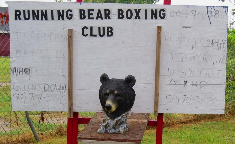 Boxing club in the Lower 9th Ward