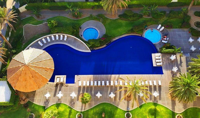 Tower lower pool Rosarita Hotel
