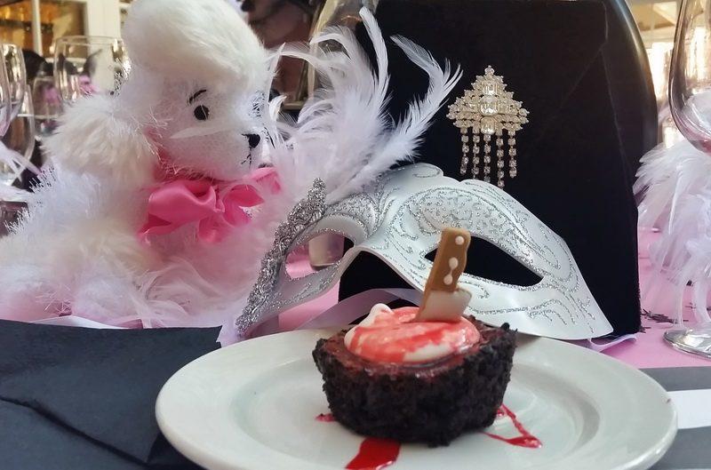 Bury the hatchet - Halloween party dessert
