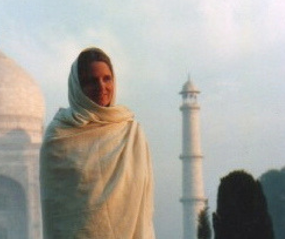 JD in front of the Taj Mahal