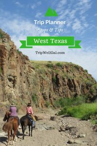 Riding Through West Texas Trip Planner Pin 1