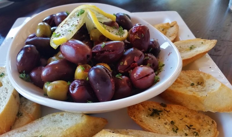 An appetizer plate in Anata Bistro