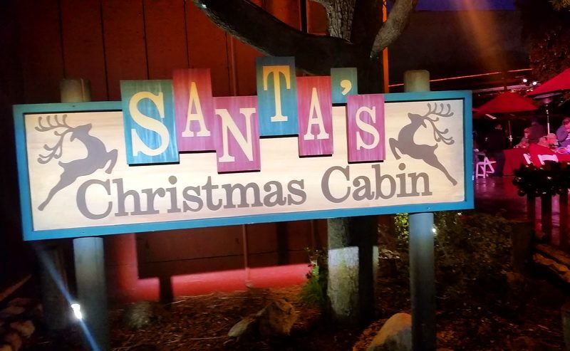 Santas Christmas Barn in Knotts Merry Farm