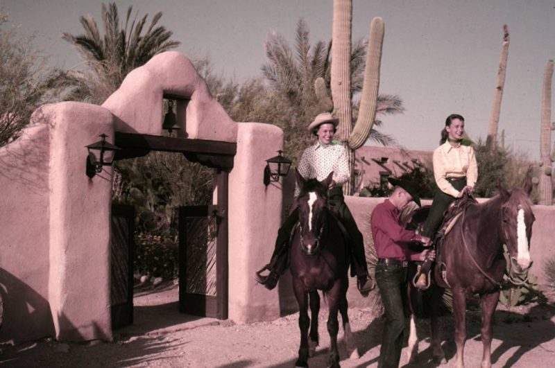 HIstoric girls girls at Hacienda del Sol