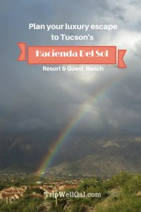 Winter getaway to a luxury resort at Hacienda Del Sol Pin
