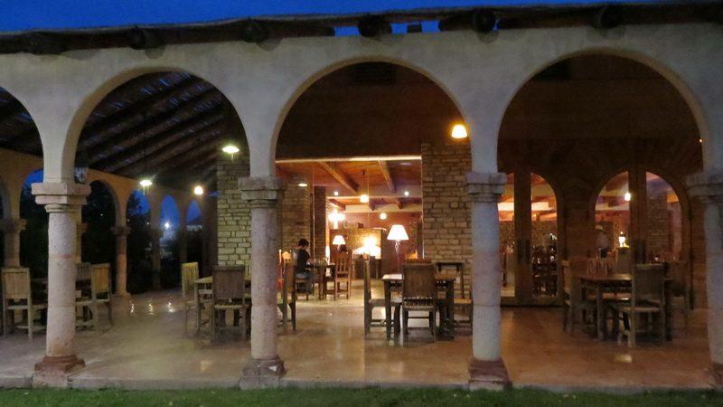 Dawn breakfast at the Lajitas Resort