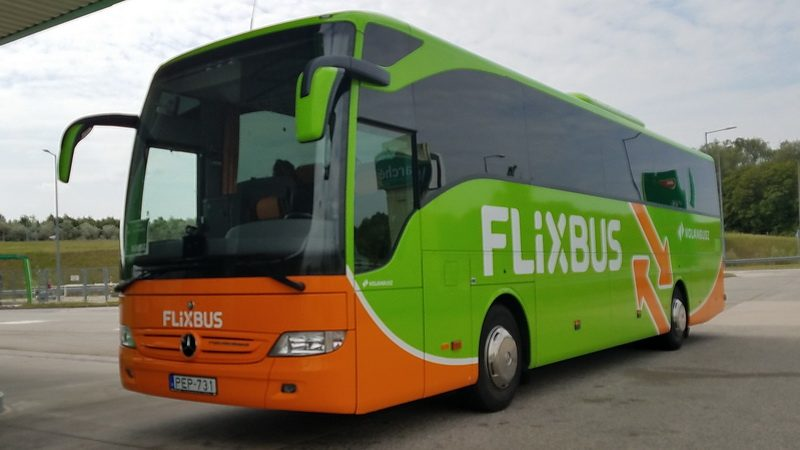 Flix bus can help with getting around Budapest
