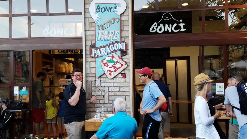 The Bonci Pizzarium in the Prati District of Rome