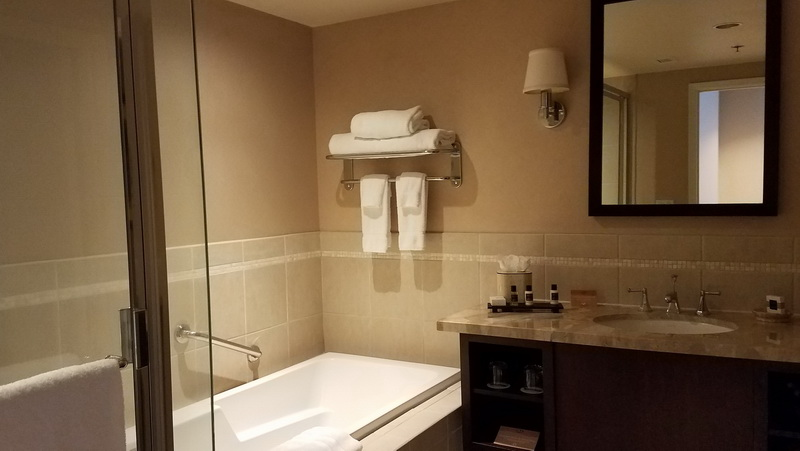 Spacious bathroom in Pala Casino