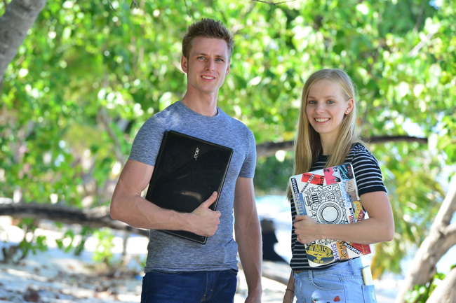 Agness and Cez write about staying cool in summer