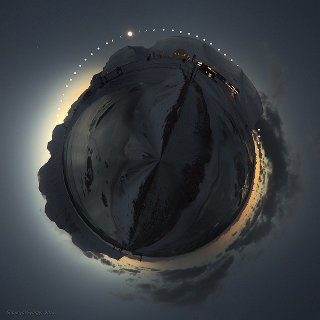 Eclipse Planet - taken in 2015 by György Soponyai