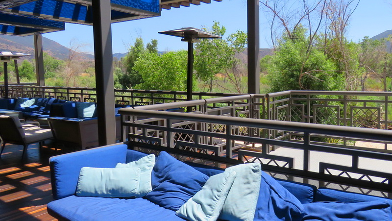 Patio dining outside the Luis Reys inside the Pala Casino