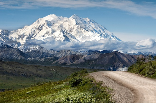 Mt. Denali is always free from scorching summer heat