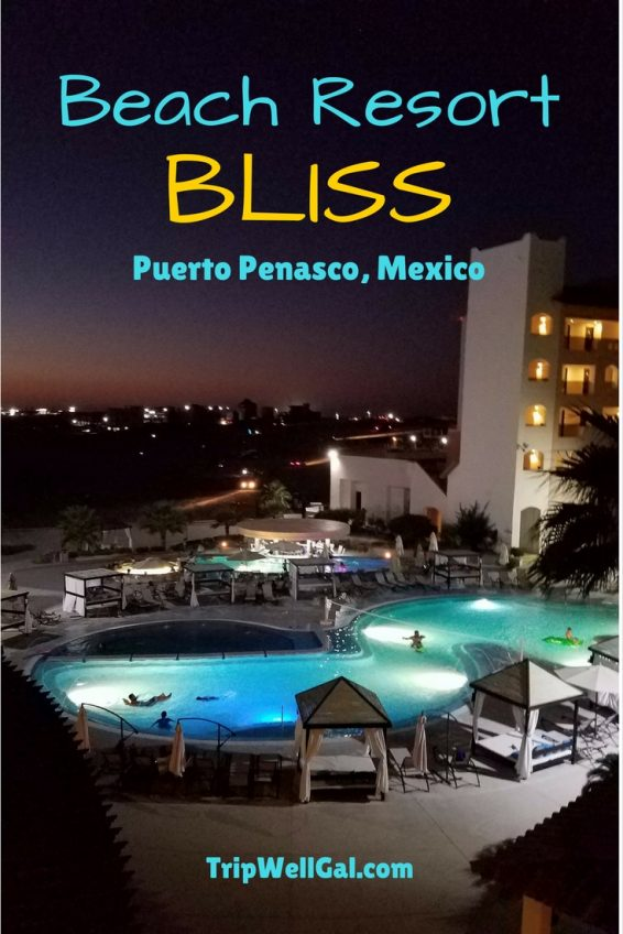 Beach Resort bliss inside the Penasco del Sol Hotel