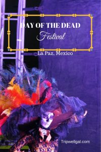 Dia de Muertos Festival Pin 2 La Paz Mexico