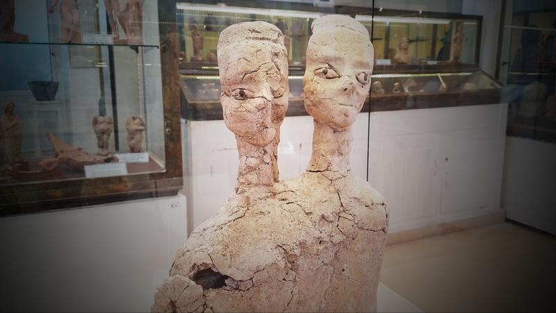 Inside the Jordan Museum in the Citadel ruins