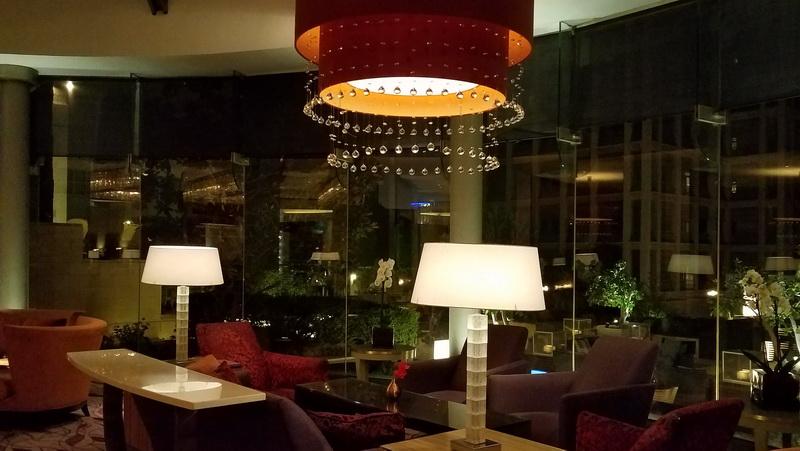One lobby in the Grand Hyatt Lobby