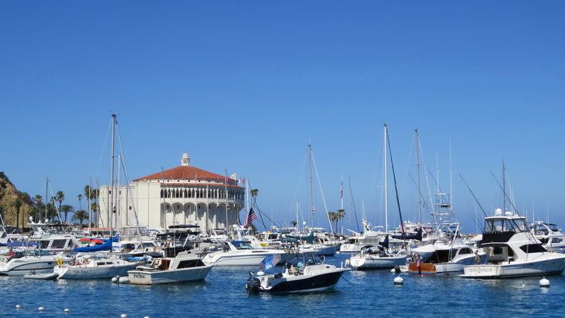 When you visit Catalina Island in winter be sure to tour the Casino Building