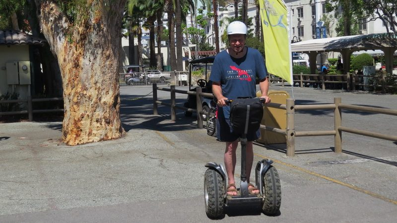 Segway when you visit Catalina