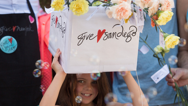 Give Love San Diego is set for random and creative acts of kindess