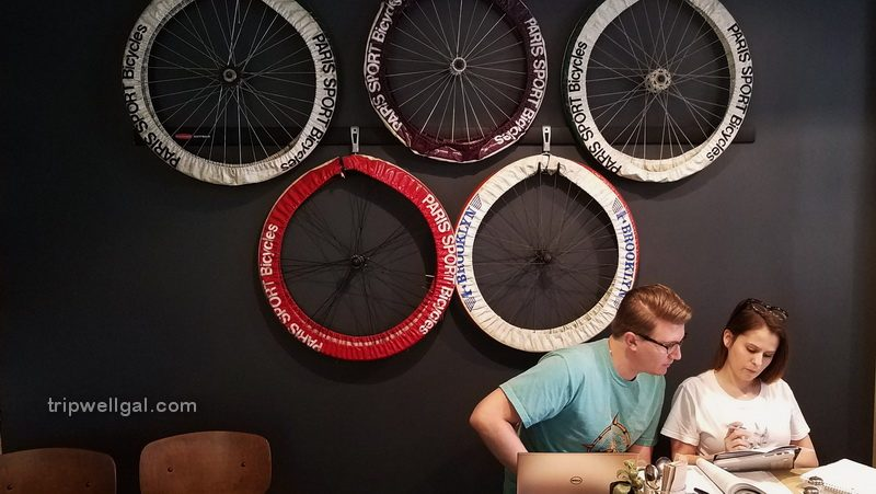 Family owned, the Coffee Hub, was a stop on the Caffeine Crawl