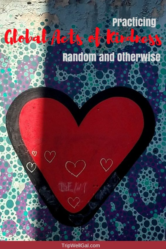 Practicing random acts of kindness pin 1