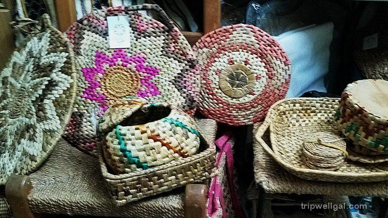 baskets in Um Qais, Jordan