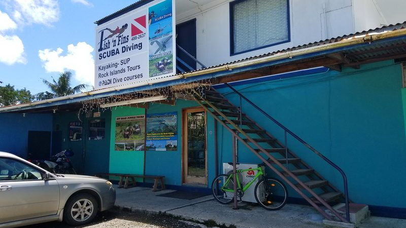 The Fish and Fins Dive Shop - Certified and responsible dive center on Palau