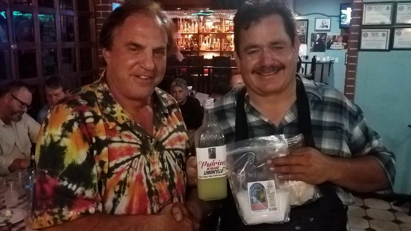 Limonada and spices - Souvenirs with the owners of the Palarino Italian Restaurant