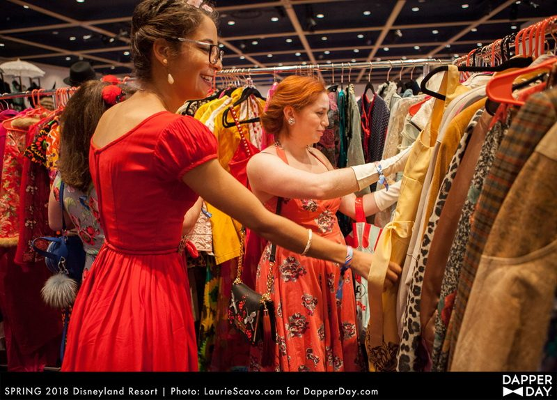 Shop for vintage stylish travel clothes at Dapper Day events.