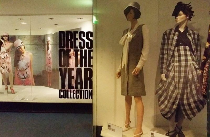 Mary Quant dress was part of a Dress of the Year exhibit.