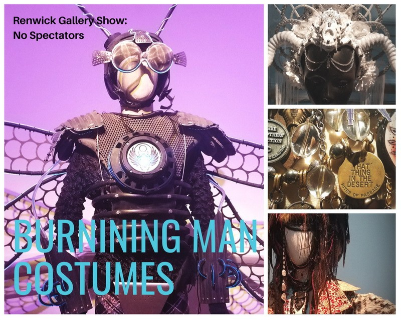 Burning Man Art Installation includes these costumes
