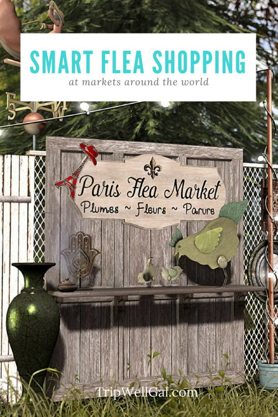 Smart flea market shopping around the world pin 2
