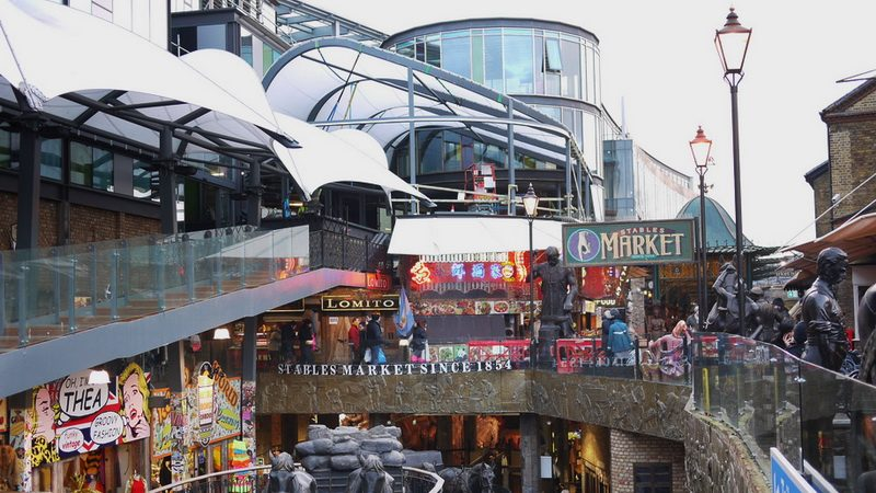 Stables Market is just one part of London's Camden. Photo by SamChills on Flickr