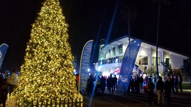 2018 Newport Beach Christmas Boat Parade opening night party at Marina Park.
