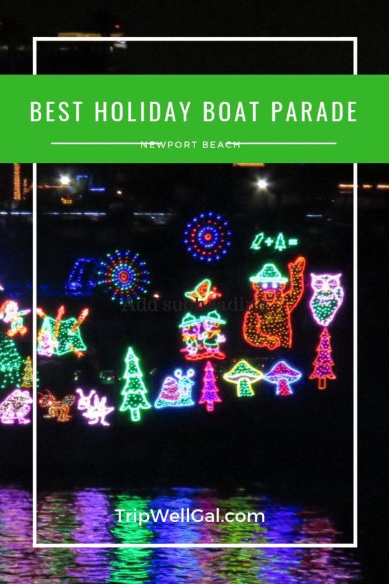Best holiday boat parade Pin