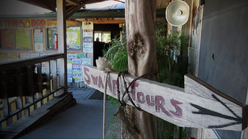 Basin Landing Swamp Tours shop on the edge of the Atchafalaya Basin near Henderson, Lafayette