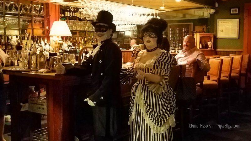 Vermillionville owners on Halloween night