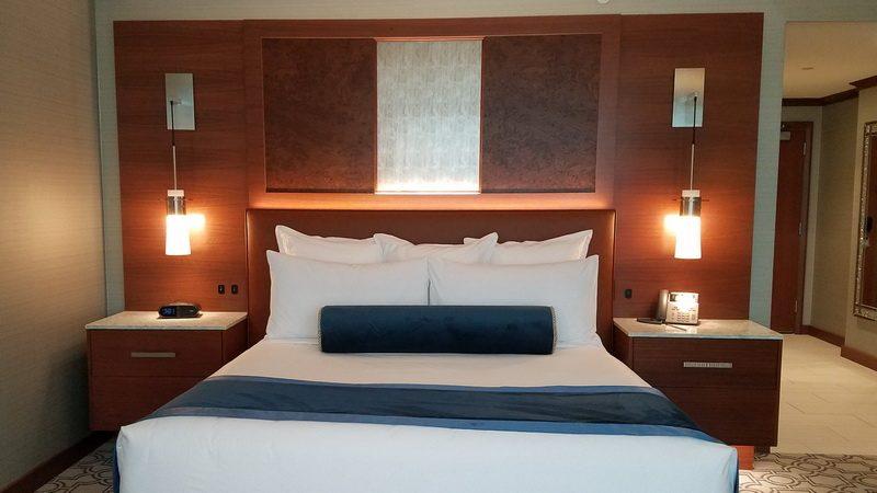 Inside a Resort World Suite