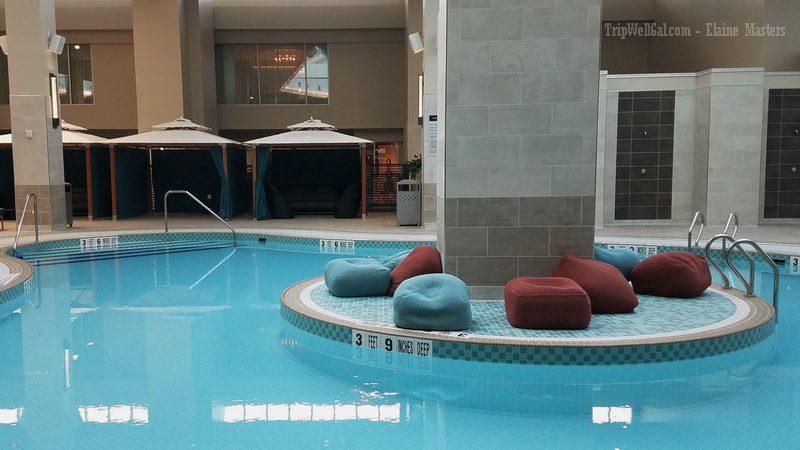 Pool inside Resort World
