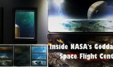 Explore your starship travel dreams at NASA's Goddard Space Center