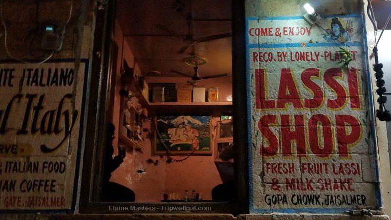 The Jaisalmer Lassi shop