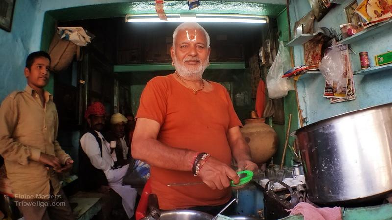Chai shop in Jodhpur India