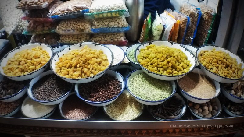 In the New Delhi Spice Market