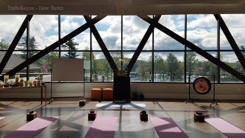 Yoga room at Yog1